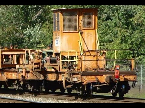 CSX Ribbon Rail Train with Road Slug