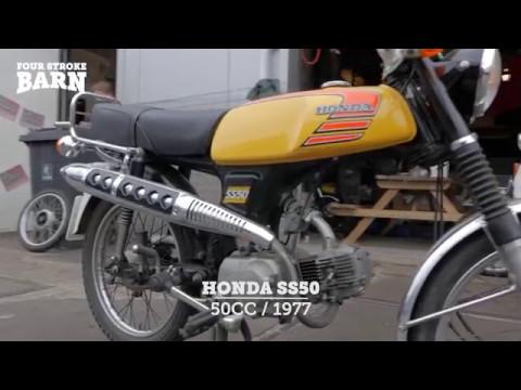 Honda Garage Utrecht : Honda ss50 @ fourstrokebarn youtube