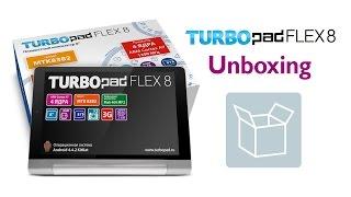Розпакування TurboPad Flex 8