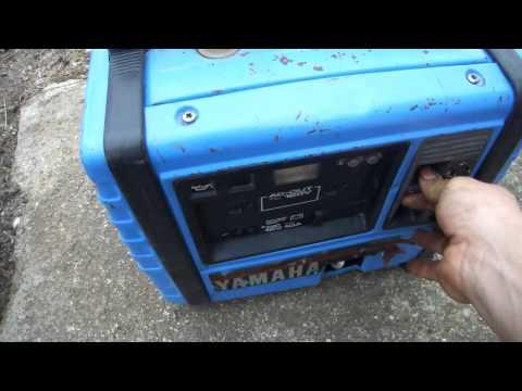 Mini generador yamaha ef600 doovi for Ef600 yamaha generator