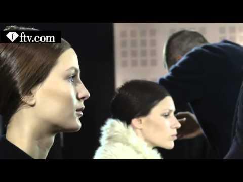 Yiqing Yin Backstage Part 2 Paris Couture Fashion Week FashionTV
