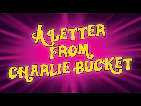 A Letter From Charlie Bucket karaoke instrumental backing track