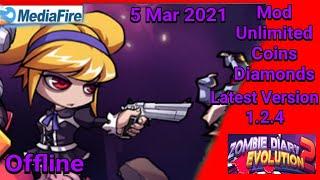 ज़ोंबी डायरी 2 मॉड एपीके 1.2.4 नवीनतम संस्करण | 5 मार्च 2021 screenshot 2
