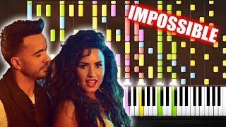 Luis Fonsi Demi Lovato chame La Culpa - IMPOSSIBLE PIANO by PlutaX.mp3