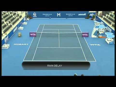 Elena Vesnina vs Yaroslava Shvedova, Moorilla Hobart International 2013