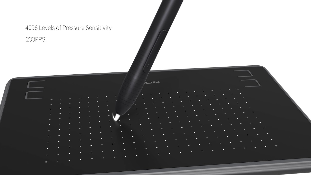 Huion Inspiroy H430P Graphic Drawing Tablet - YouTube