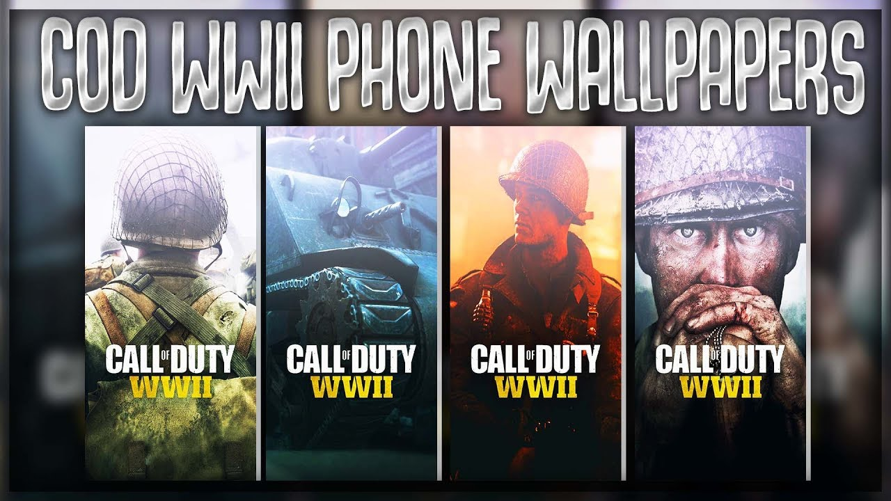 Free Gfx Free Call Of Duty Wwii Hd Wallpapers Phone Youtube