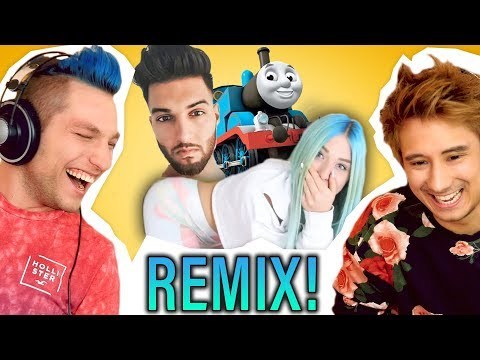 ApoRed Feat. Rezo😅 - Youtuber REMIXEN Mit Julien Bam