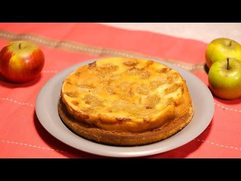 Recette De Gateau Aux Pommes Et Au Yaourt 750g Youtube