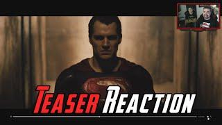 Batman v Superman #3 Teaser Reaction