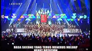 Heavy Rotation Mega Konser JKT48 Warnai Harimu (RCTI)