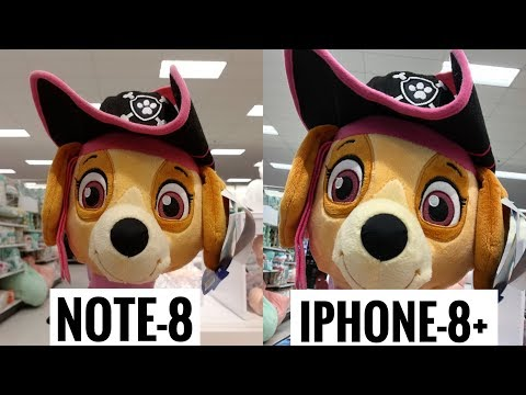 Download Youtube: Galaxy Note 8 vs iPhone 8 Plus - Camera Test! Which is Better?