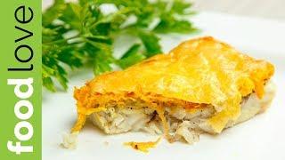 ЗАПЕЧЕННАЯ РЫБА с шампиньонами, морковью и сыром | Быстрый ужин | FoodLove