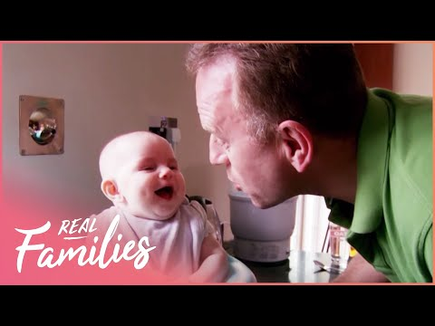 Dads Are Left In Charge For The First Time | Nine Months Later | Series 1 Episode 5