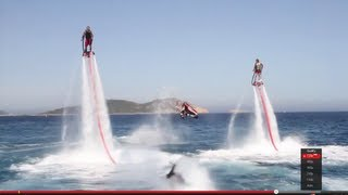 sea amazing real flying n diving machines