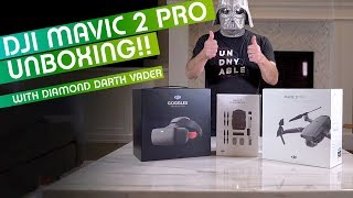JUST RELEASED!! DJI Mavic 2 Pro Unboxing with Diamond Darth Vader
