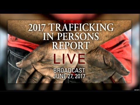美国国务院2017年报告:美国国务卿蒂勒森正式宣布中国为人口贩卖最严重国家之一