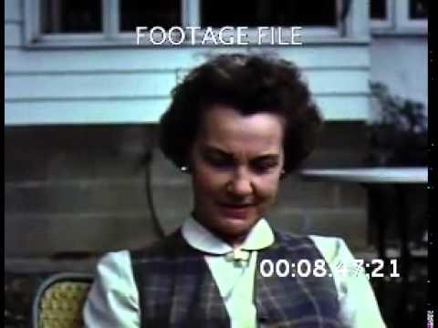 Stock Footage: Columbus Ohio 1950s