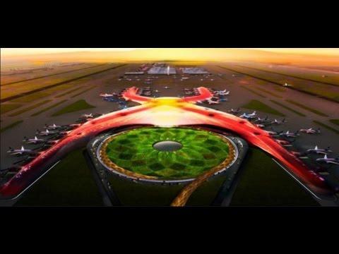 Este será el nuevo aeropuerto de la ciudad de México - Mexico City new airport