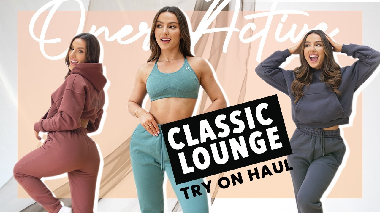 ONER ACTIVE Try On Haul NEW LOUNGE WEAR COLLECTION / Krissy Cela
