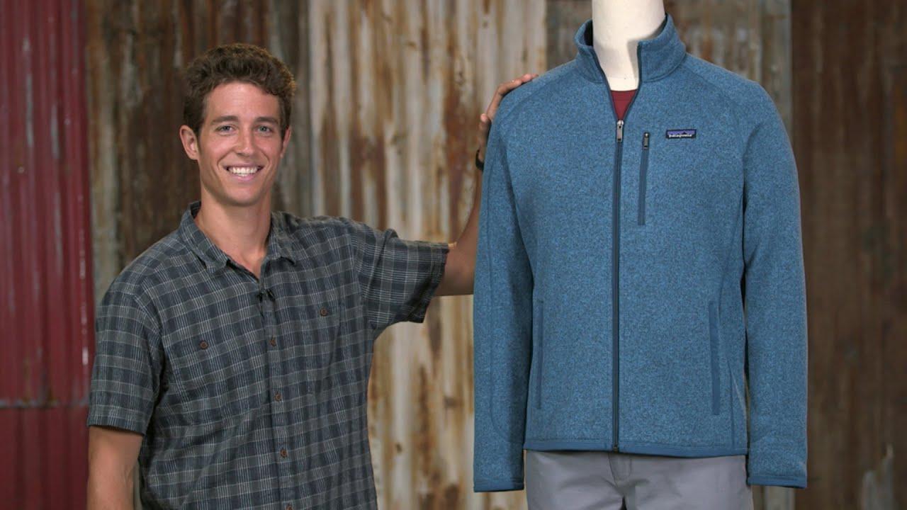 Patagonia Men's Better Sweater® Fleece Jacket - YouTube