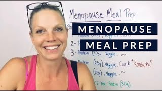 What should a day of eating look like during menopause?