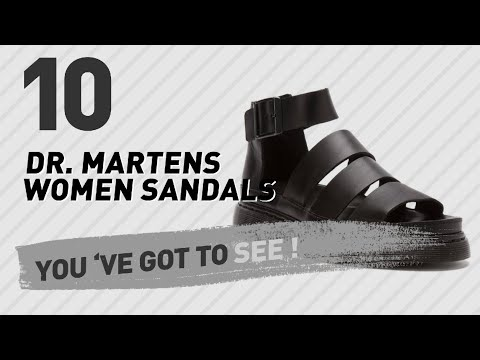 Dr. Martens Women Sandals // New & Popular 2017