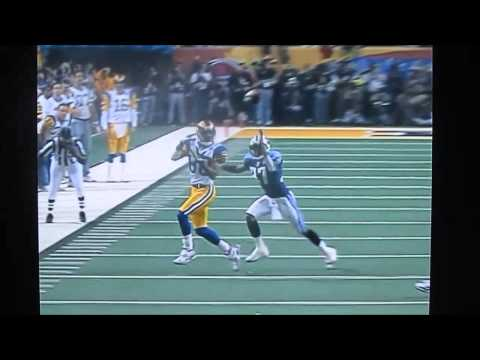 Isaac Bruce & Torry Holt Super Bowl 34 Highlights