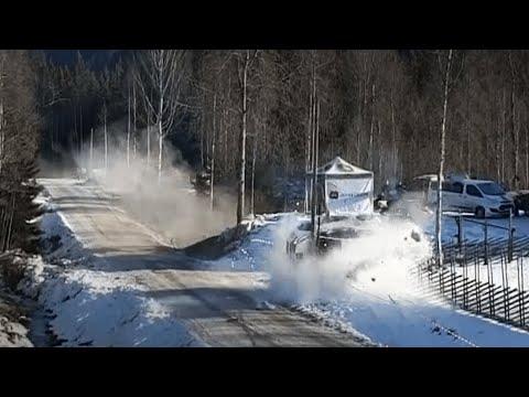WRC Rally Sweden CRASH - Jon Armstrong