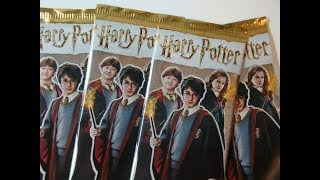 Harry Potter Contact Trading Cards Booster auspacken