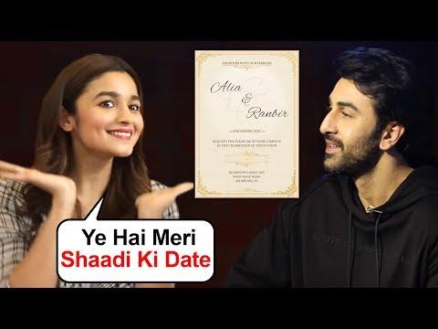 Alia Bhatt With Ranbir Kapoor REVEALS Her Marriage Date | Shocking Details