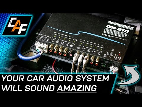 AudioControl DM-810 DSP - INSTALL & OVERVIEW