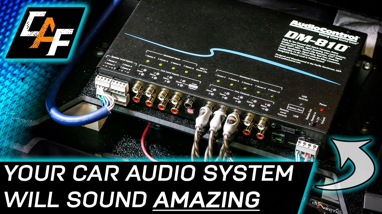 AudioControl DM810 DSP  INSTALL & OVERVIEW  YouTube