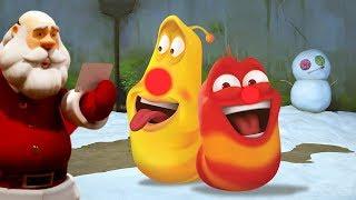 LARVA - SANTA'S SLEIGH- CHRISTMAS SPECIAL | Cartoons For Children | LARVA Official
