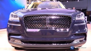 2019 Lincoln Aviator - Exterior and Interior Walkaround - Debut at 2018 New York Auto Show