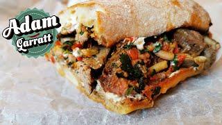 20 rib-eye steak sandwich because it&#39s finally payday! Steak recipes