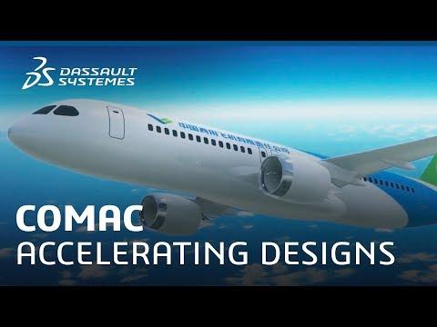 Accelerating Designs for COMAC - Dassault Systèmes