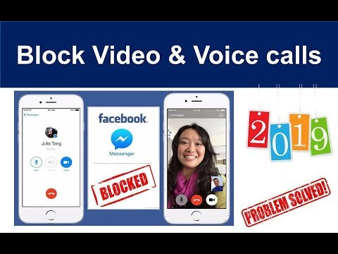How To Block Video Calls On Facebook Messenger | How To Stop Video Call On Facebook | In 2 Seconds