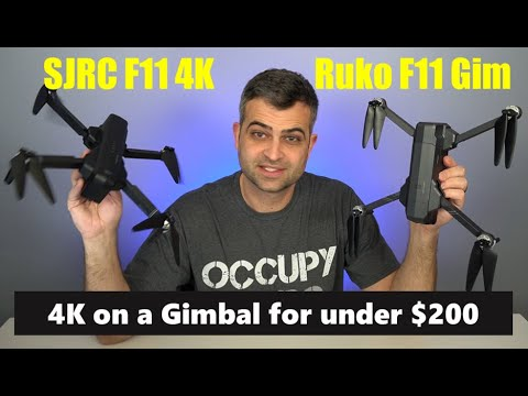 SJRC F11 4K Pro / Ruko F11 Gim | Sub - $200 GPS Drone with 4K Video