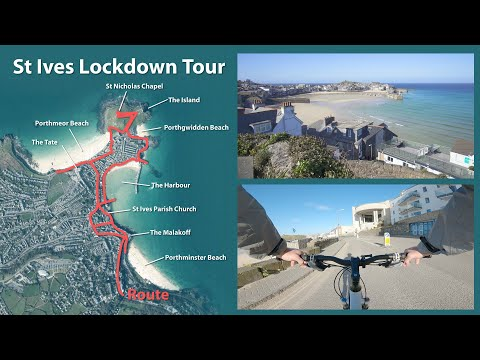 St Ives - Lockdown Tour - 2nd April 2020
