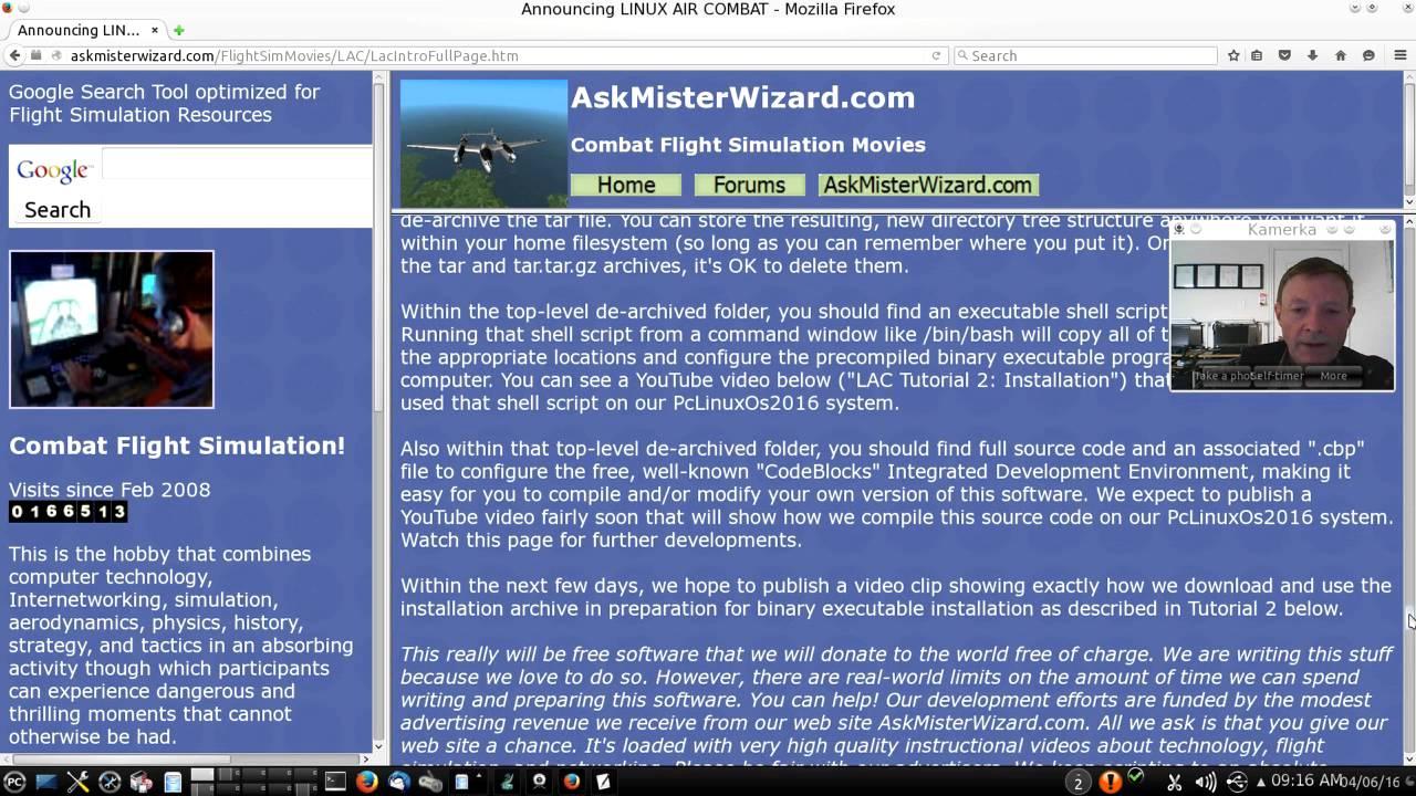 simulator] LINUX AIR COMBAT - new opensource flight simulator in