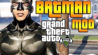 GTA V PC MOD: BATMAN!