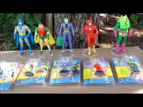 "ACE Review Super Powers 2"" Micro Figures DC Comics by Gentle Giant"
