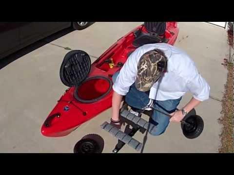 Build A Kayak Cart - DIY Kayak Cart Www.PalmettoKayakFishing.com