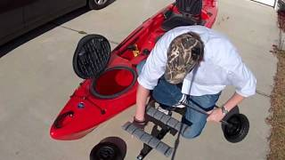 Build A Kayak Cart - Diy Kayak Cart Www.palmettokayakfishing.com