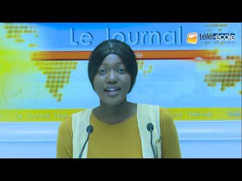 TELE-ECOLE: Grand JOURNAL de l'Education du juin 2019 présenté par Mariétou Ndiaye