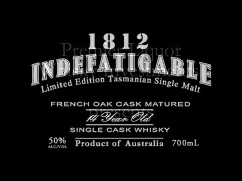 Premier Liquor Presents 1812 Indefatigable Single Malt Whisky - 100 Bottles Exclusive