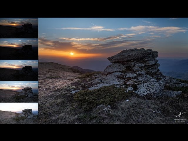 How To Blend Multiple Exposure Using Luminosity Masks