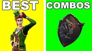 BEST SKIN BACK BLING COMBOS AVEC SGT GREEN CLOVER!!! | Fortnite Battle Royale Saison 8