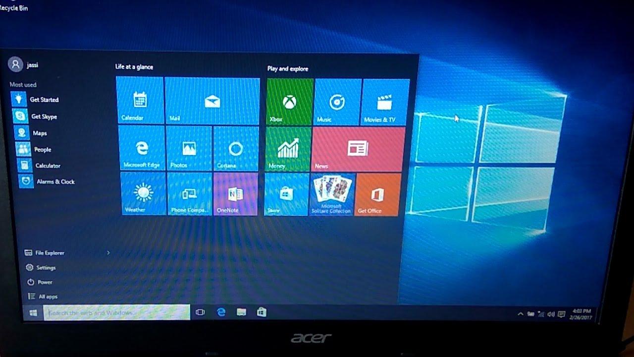 recovery usb-flash for acer aspire v5-571g windows 8 х64